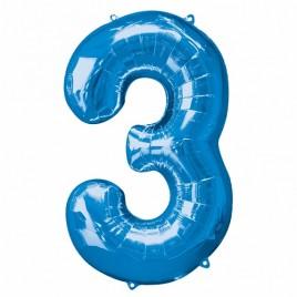 3 Blue Foil