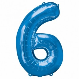 6 Blue Foil