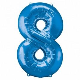 8 Blue Foil