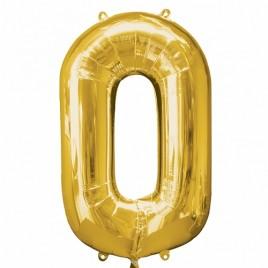 0 Gold Foil
