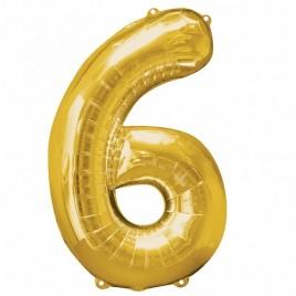 6 Gold Foil
