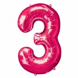 3 Pink Foil