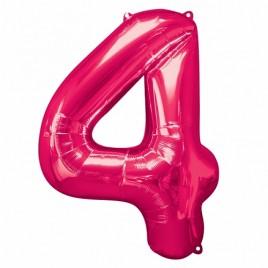 4 Pink Foil
