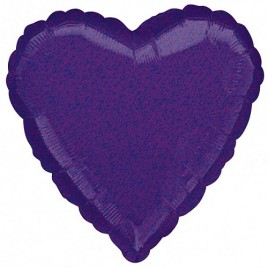 Purple Dazzler Heart