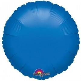 Blue Round Foil
