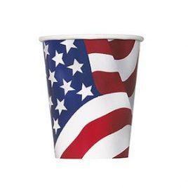 USA Flag Cups