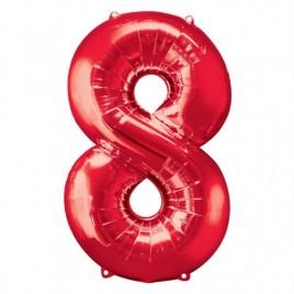 8 Red Foil