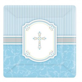 Blessing Blue Plates (Small)