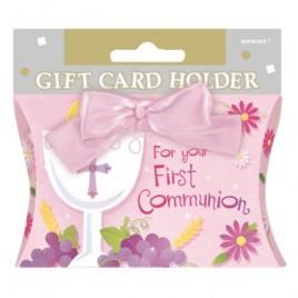 Gift Card Holder Pink