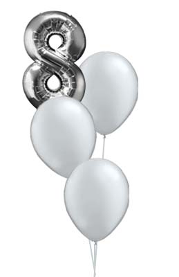 8 Silver Bouquet Prices from