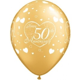 50th Anniversary Little Hearts