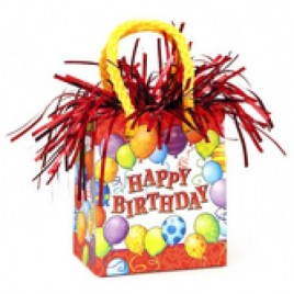 Birthday Balloons Bag Weight