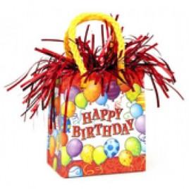Birthday Balloons Bag Weight