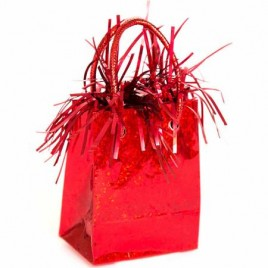 Red Gift Bag Weight