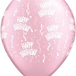 Pink Birthday A Round