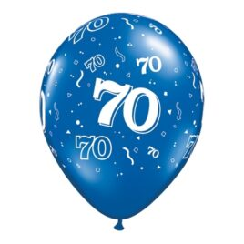 70th Assorted Colours