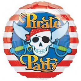 18″ Pirate Party