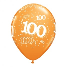 100th Assorted Colours 6Pk