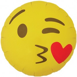 Emoji Kissing Foil