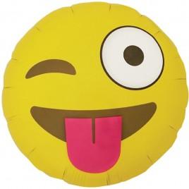 Emoji Winking Foil