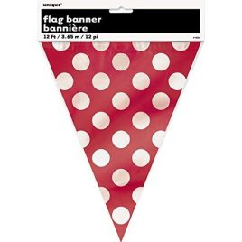 Polka Dot Flags – Red