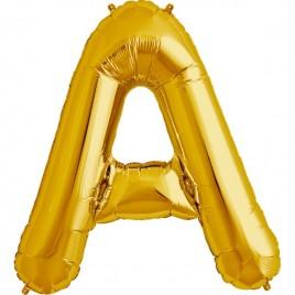 A Gold Letter Foil