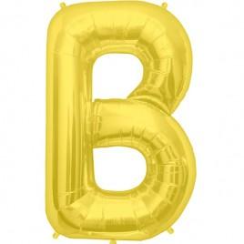 B Gold Letter Foil