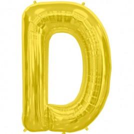 D Gold Letter Foil