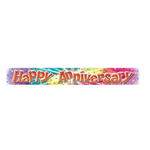 happy anniversary banner the party shop donnybrook