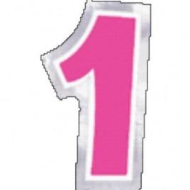 Number 1 Sticker