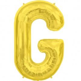 G Gold Letter Foil