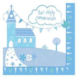 Communion Boy Napkins