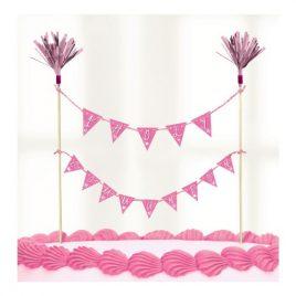 Cake Picks – Pink