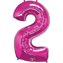 Pink Number 2 Foil