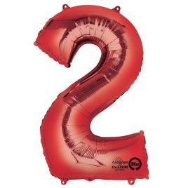 Red Number 2 Foil