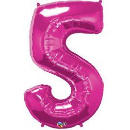 Pink Number 5 Foil