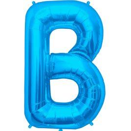 B Blue Foil