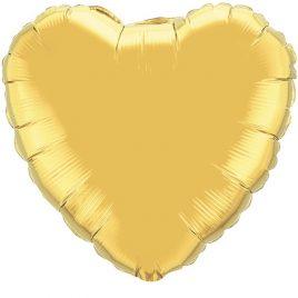 Gold Heart Foil