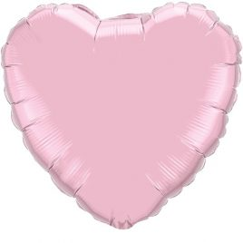 Light Pink Heart Foil