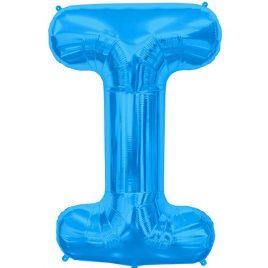I Blue Letter Foil