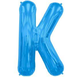 K Blue Letter Foil