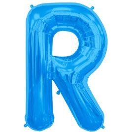 R Blue Letter Foil
