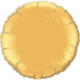 Gold Round Foil