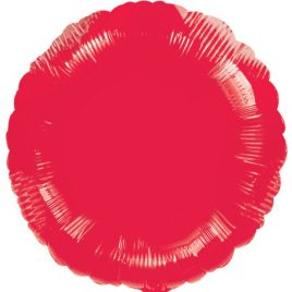 Red Round Foil