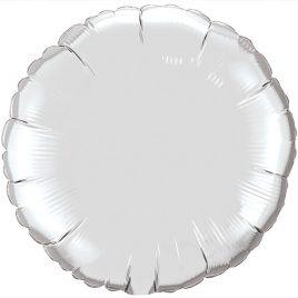 Silver Round Foil