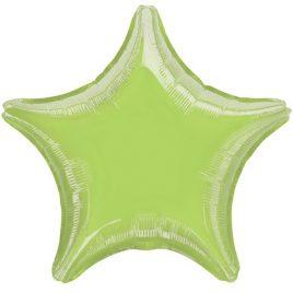 Lime Green Star Foil