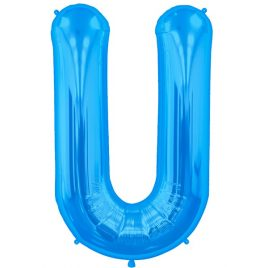 U Blue Letter Foil