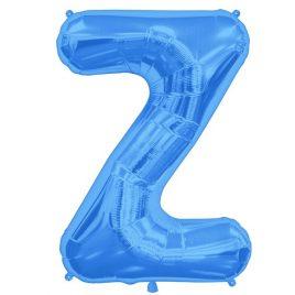 Z Blue Letter Foil