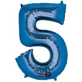 Blue Number 5 Foil