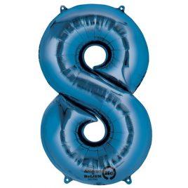Blue Number 8 Foil